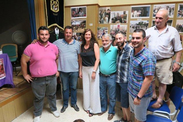 Diputación con la Unidad Vallense