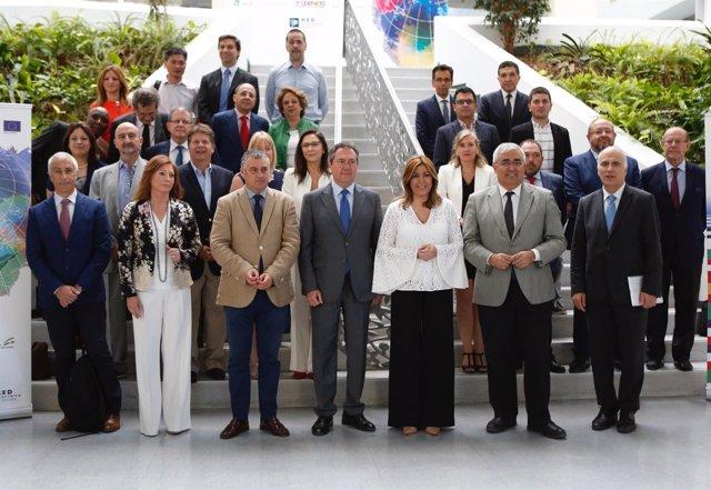 Susana Díaz inaugura el Encuentro Internacional de Parques Tecnológicos