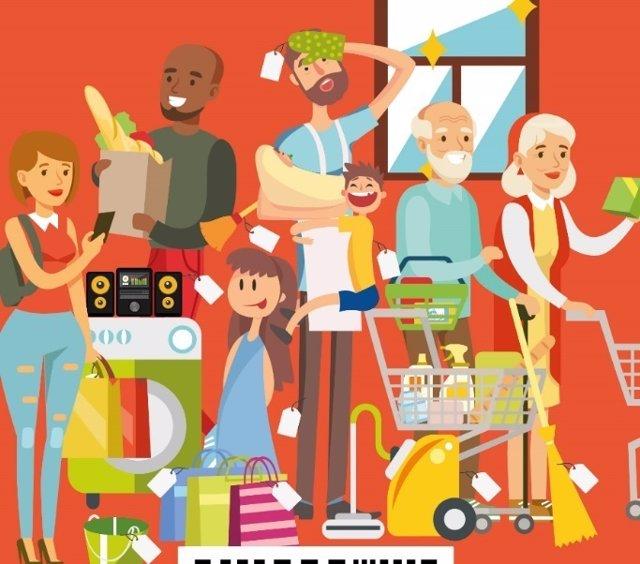 Imagen de la campaña contra la 'tasa rosa'
