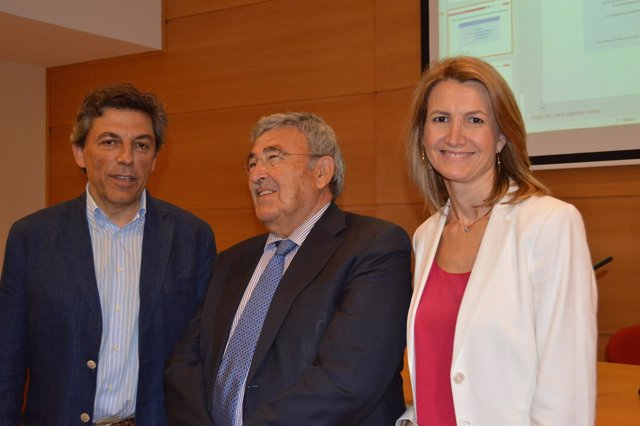 Joan Sanmartín, Joan Simó y Carme Poveda