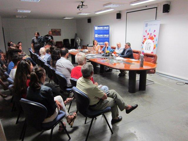 Madre Coraje presenta su proyecto en Jerez
