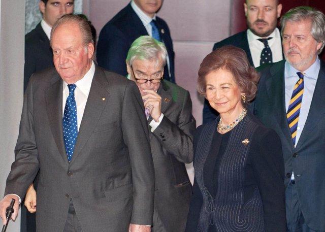 Don Juan Carlos y Doña Sofía/ Europa Press Reportajes