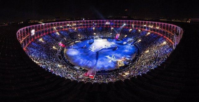 Celebración del Red Bull X-Fighters en Las Ventas