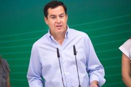 """Moreno ve """"ridículo"""" que PSOE-A pida el cese de Crespo y cree que faltaron recursos para prevenir el incendio de Moguer"""