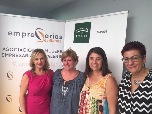 Jornada de empresarias en Gelves