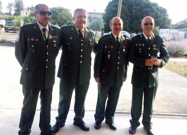 Cuatro Guardias Civiles De Murcia, Condecorados En Francia