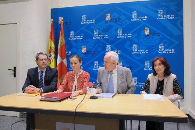 Palencia.- Un momento de la rueda de prensa