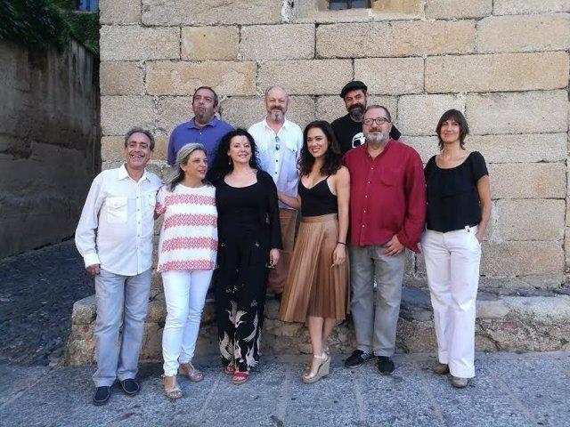 """La Compañía Teatrapo """"resucita"""" a Cervantes en Cáceres"""