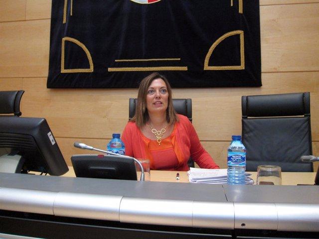 La consejera portavoz y de Agricultura, Milagros Marcos.