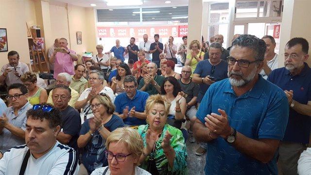 Representantes de plataformas de Valencia y sus Comarcas