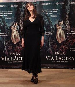 Photocall con Monica Bellucci por la película En la vía láctea