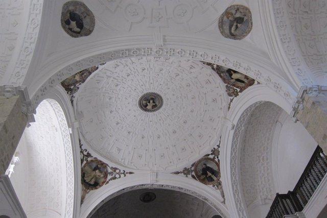 Bóvedas de la iglesia de Santo Domingo de Jaén.