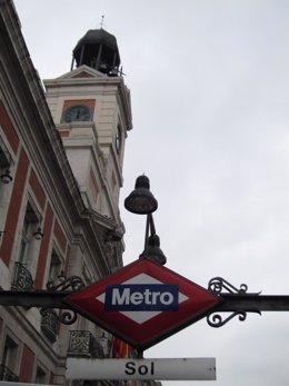 Metro Sol y Puerta del Sol, Madrid