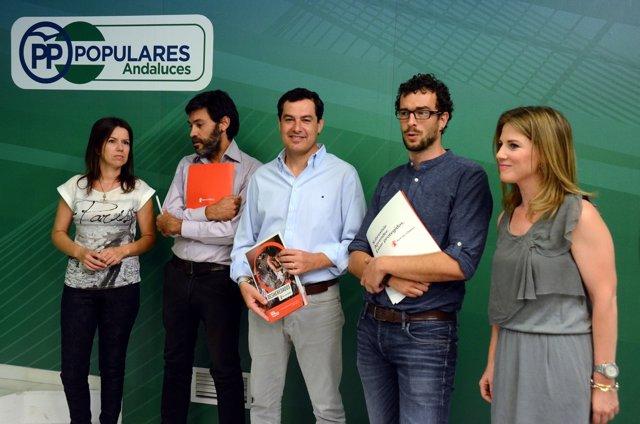 [Comunicación Pp Andaluz]Comunicado Pp Andaluz+Audios+Foto. Moreno Aboga Por Una