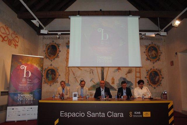 Presentación de la próxima temporada de la Orquesta Barroca de Sevilla