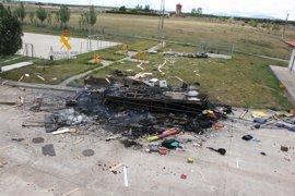 """El fallecido en la atracción de Cabrillas (Salamanca) prendió fuego al remolque para """"cobrar el seguro"""""""