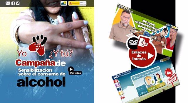 Campaña de la CNSE para prevenir el consumo de alcohol entre adolescentes sordos