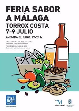 Feria comarcal sabor a málaga torrox costa julio