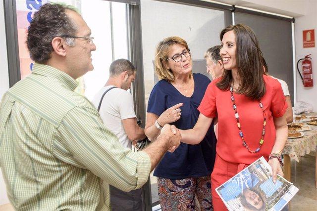 Carmen Belén López ha visitado las instalaciones de 'A Toda Vela'.