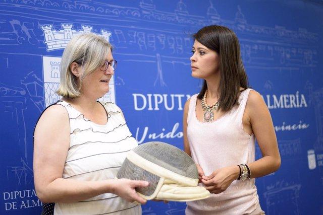 Astrid Ferrando y Ángeles Martínez han presentado el campeonato andaluz.