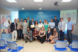 Las empresas Wins Estudio y Grupo Brochas ganan los IV premios provinciales de Andalucía Emprende en Cádiz