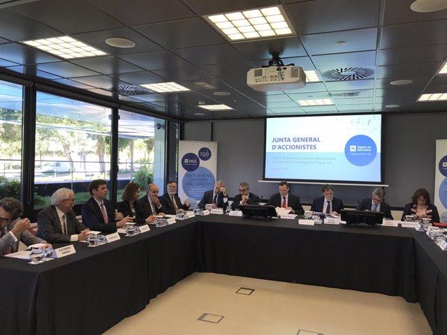 Junta de accionistas de Aigües de Barcelona
