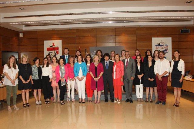Ana Ollo en la conferencia sectorial de Igualdad