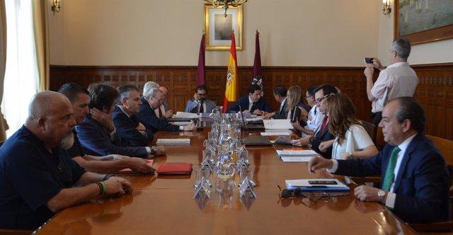 Imagen del Consejo de Admin istración del Puerto de Cartagena