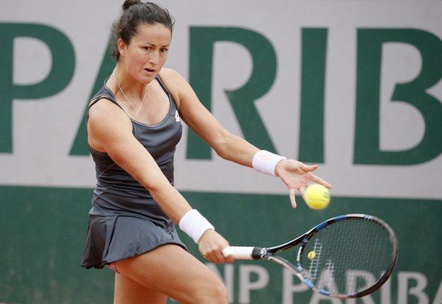 La tenista española Lara Arruabarrena