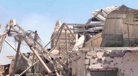 "El primer ministro de Irak declara ""el fin"" del ""falso"" 'califato' tras la toma de la mezquita Al Nuri de Mosul"