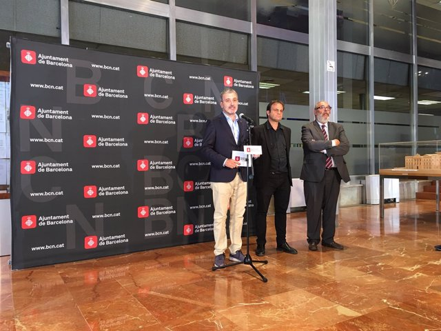 Los tenientes de alcalde de Barcelona Jaume Collboni y Jaume Asens