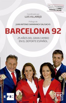 Portada del libro Barcelona'92