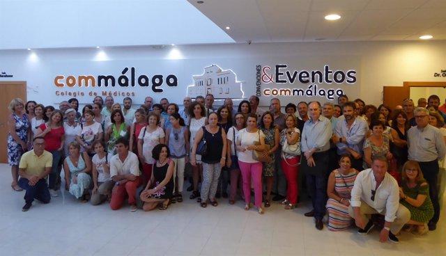 Reunión médicos de familia málaga colectivo plataforma basta ya carencias sanida