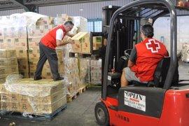 Cruz Roja reparte más de 320.000 kilos de alimentos entre 16.000 personas sin recursos