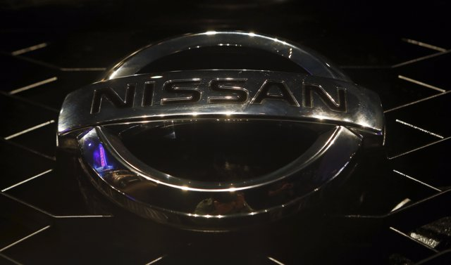 El logo de la firma Nissan