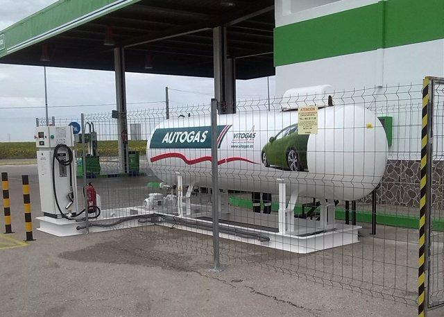 Estación de servicio de Autogas
