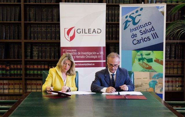 Firma Beca Gilead Fellowship