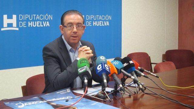 El alcalde de Aracena (Huelva), Manuel Guerra.