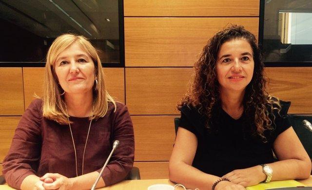 Rosa Cursach y Pilar Costa en la Conferencia Sectorial de Igualdad