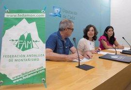 Diputación de Cádiz y Federación Andaluza de Montañismo ponen en marcha para personal técnico y voluntarios