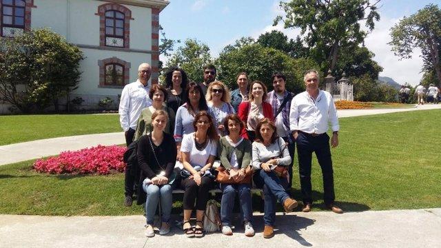 Participantes de la Lanzadera de Empleo de 2016 en Camargo