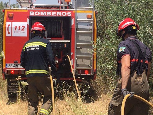 Los bomberos del Aljarafe.