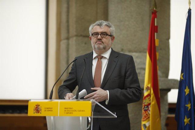 Toma de posesión del director del Museo del Prado, Miguel Falomir