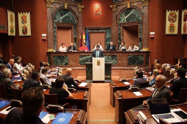 Presidente López Miras comparece en Asamblea