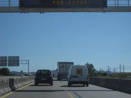 Unos 350.000 desplazamientos por carreteras aragonesas en la Primera Operación de Tráfico del Verano