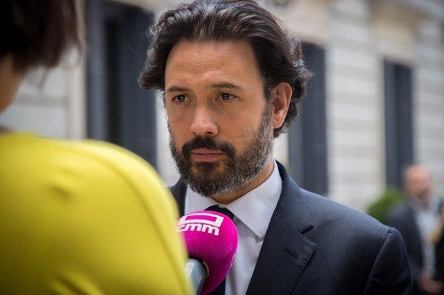 El Portavoz De Energía Del PP En El Congreso, Guillermo Mariscal