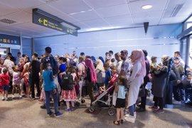 Barcelona acogerá a 18 de los 184 refugiados que han llegado a España desde Grecia