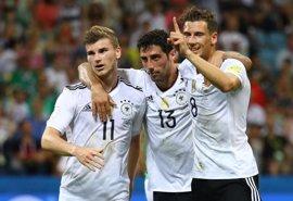Alemania fulmina a México en dos minutos