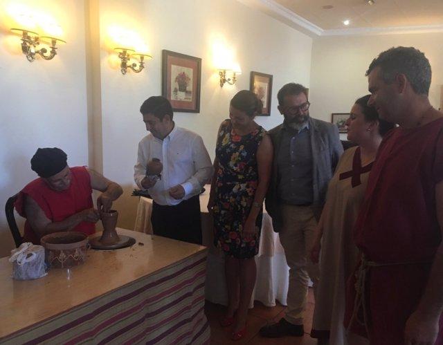 Reyes inaugura las Jornadas Gastronómicas Ibero-romanas