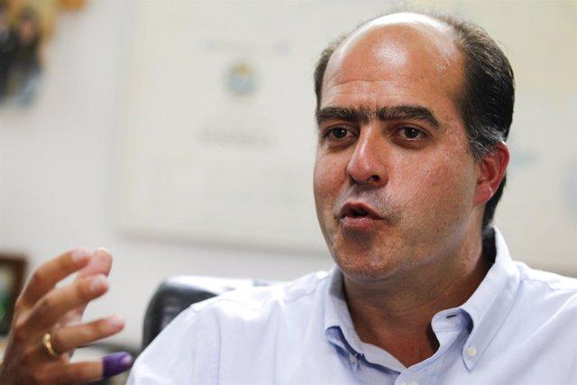 El diputado de Primero Justicia Julio Borges.